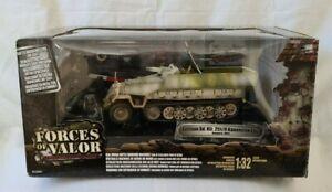 FORCES OF VALOR UNIMAX 81510 (2006)1:32 GERMAN Sd Kfz 251/9 KANONENWAGON BOXED