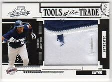 2005 Absolute Tony Gwynn Tools of the Trade Game Jersey Prime #6/10 Padres