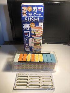 Japan OH! Sushi Game Party Game Sushi Jenga with English translation