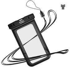 Waterproof Case YOSH Universal Snow Proof Pouch Dry Bag for Apple iPhone 7, 6 6s