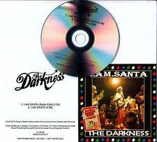THE DARKNESS I Am Santa 2015 UK 2-track promo CD