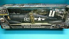 BBI 000315 ELITE FORCE 1/18 WWII US NAVY F4U CORSAIR Daisy June 85 DISPLAY MODEL