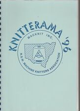 NSW MACHINE KNITTERS - KNITTERAMA '96 - SEMINAR WORKBOOK