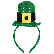 St Patricks Day - Party Dress Up - Green Top Hat Head Band