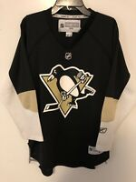 Reebok Pittsburgh Penguins Jersey Size Youth L/XL NHL Screen Printed