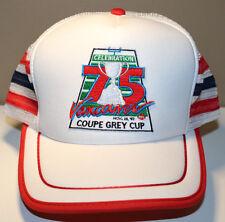 1987 CFL 75th Grey Cup Vancouver Eskimos vs Argos Vintage Snapback Cap Hat