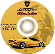 Workshop Service,spare parts,Lamborghini Diablo Roadster,catalogo ricambi