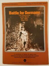 SPI Strategy & Tactics - Battle for Germany Folio Complete punched Vintage