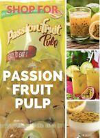 Passion Fruit Pulp 16 Oz LOW Sugar Carb Calorie, No Artificial Sugar Or Syrup