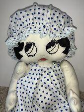 Vintage 16� Cloth Betty Boop Rag Doll