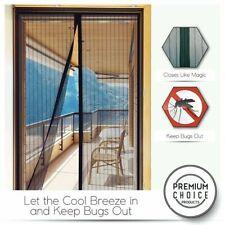 Tenda di Zanzara Porta Finestra Rete Mesh schermo anti-insetti Fly Bug magnetico più vicino