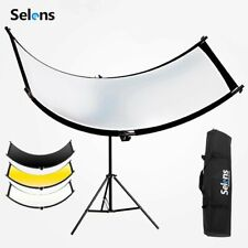 Selens 4in1 Curved Reflector Portrait Eye Lighting Headshot Photography Diffuser