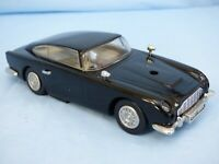 Black Aston Martin DB5 Toy Car Slot Car Scalextric Pan Race Track Vintage Rare