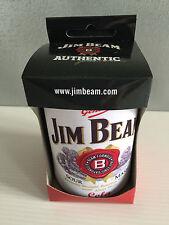 BNIB Official Genuine Jim Beam Label Merchandise Stubby Can Holder in Box