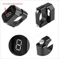 Motorcycle Handlebar Mount Aluminum Speed Gear Display Indicator Holder Bracket