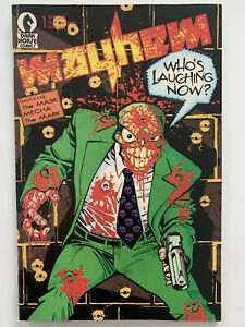 Mayhem #1 early appearance of The Mask 1989 Dark Horse Comics