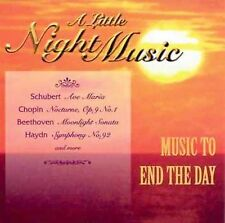 Little Night Music [Public] by Various Artists (CD, Jul-1997, Public Music)