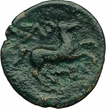 Greek City of Gargara in Troas 350BC Apollo Horse Authentic Ancient Coin i34325