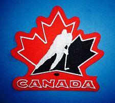 Team Canada Olympic World Junior WJHC Hockey Iron On Hat Jacket Patch Crest E