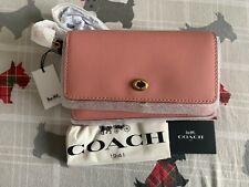 NWT Coach 1941 Dinky Crossbody Leather handbag in light blush pink 37296 $295