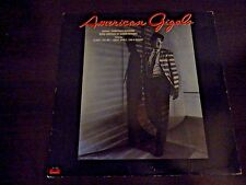 VINYL LP  AMERICAN GIGOLO -MOVIE SOUNDTRACK  PARAMONT 1980 PD-1-6259