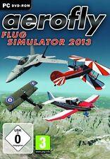 PC Spiel * Aerofly Flug Simulator 2013 * Flugzeug Simulation Kampfflugzeug F-18