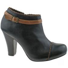 Lotus 100% Leather Slim Heels for Women