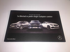 Catálogo Catalogue MERCEDES BENZ - Nuevos GLC , GLE y GLE Coupé - Spanish