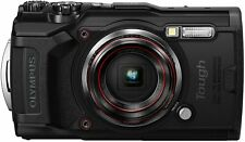 Olympus Tough TG-6 Waterproof Camera with 3-Inch LCD, 8x Zoom, Full HD (Black)