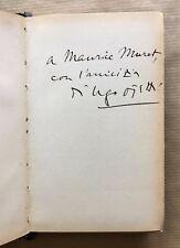 "UGO OJETTI  - ""SESSANTA"" - 1937 — Envoi autographe de l'auteur"