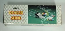 Noble 8 Deck Black Jack Casino Dealer Shoe Heavy Duty 1/4 Inch Acrylic