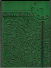 The Arrow 1940 - Chillicothe High School Yearbook  - Ohio