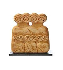 Mesopotamian Eye Idol Miniature Statue Figurine from Syria Family Evil Eye 2.5H