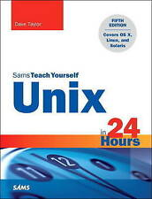 Unix in 24 Hours, Sams Teach Yourself: Covers OS X, Linux, and Solaris (5th Edit
