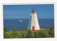 Swallowtail Lighthouse Grand Manan Island Canada Postcard 351a ^