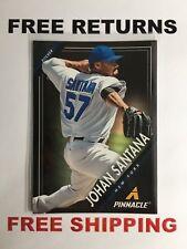 2013 Panini Pinnacle Card # 145 Johan Santana MLB New York Mets