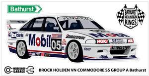 Sticker - Brock Holden VN Bathurst Race Car 05