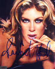 Hot RACHEL HUNTER In-Person Signed 8X10 Photo with SuperStars Gallery (SSG) COA