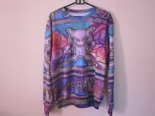 Pokemon Go Ancient Mew Crewneck Jumper Sweatshirt Sweater No Hoodie Holographic