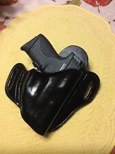 S&W - M & P Shield Holster - 9mm, .40,or 45acp w/Crim Trace Laser or Lasermax