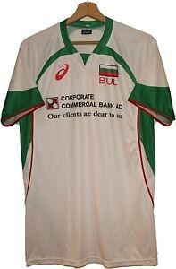 2005 BULGARIA Volleyball SHIRT Jersey Tricot Maglia Camiseta Asics size XL