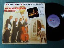 AD VANDERHOOD QUARTET Invitation to a party in Chateau Marquette - LP EMI MFP