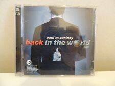 Paul Mac Cartney - Back in the World - 2 X CD - TBE