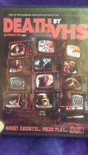 DEATH BY VHS USED - DVD OOP Like New Rare Horror Independent