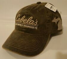 NEW Cabela's Men's Chesterfield Township, MI Legendary Outfitter Cap One Size