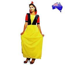 Adult Women Sexy Snow White Princess Disney Fairytale Halloween Dress Costume