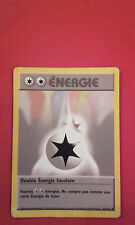 DOUBLE ENERGIE INCOLORE 96/102 1ERE/2NDE EDITION CARTE POKEMON  RARE VF FR