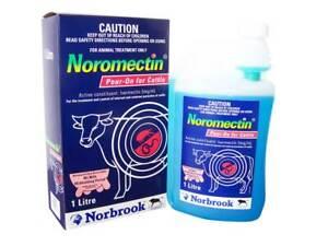 Noromectin Cattle Drench Pour-On 1 Litre (Equiv, Ivomec Ausmectin)