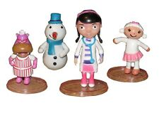 4pc Doc McStuffins Lambie Playset 4 Figure Cake Topper *USA SELLER* Toy Doll Set
