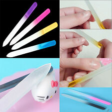Professional Durable Crystal Glass Nail Art Manicure Buffer File Pro Device Tool